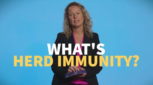 Still image from video: What is herd immunity?