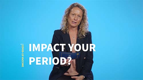 Still image from video 'Can the COVID-19 vaccine impact your period?'