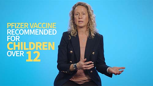 Still image from video 'Are the vaccines safe for children?'