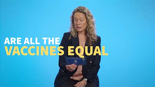 Still image from video 'Are all the vaccines equal in effectiveness?'
