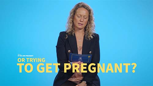 Still image from video 'Is it safe to get vaccinated if you are pregnant or trying to get pregnant?'