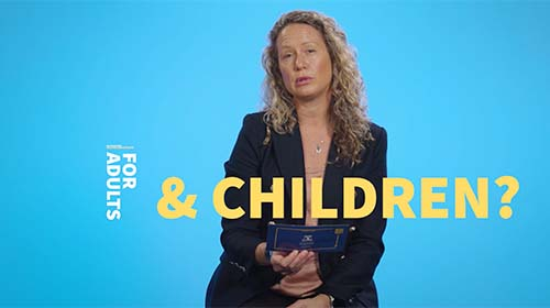 Still image from video 'Are there different vaccine side effects for adults and children?'