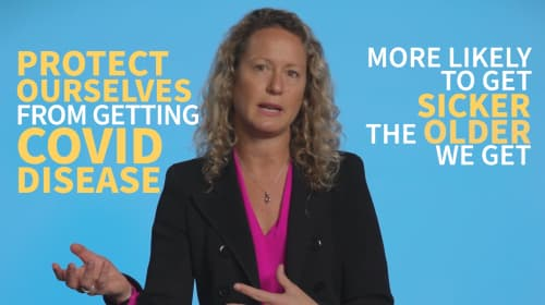 Still image from video 'Why should I get vaccinated?'