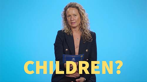 Still image from video 'Why should we vaccinate children?'